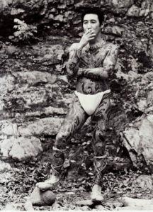 Vintage Photos of Yakuza with Their Tattoos (2)