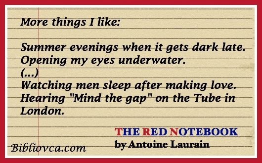 The Red Note Book Things I like