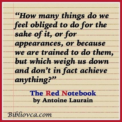 The red Notebook Quote 1